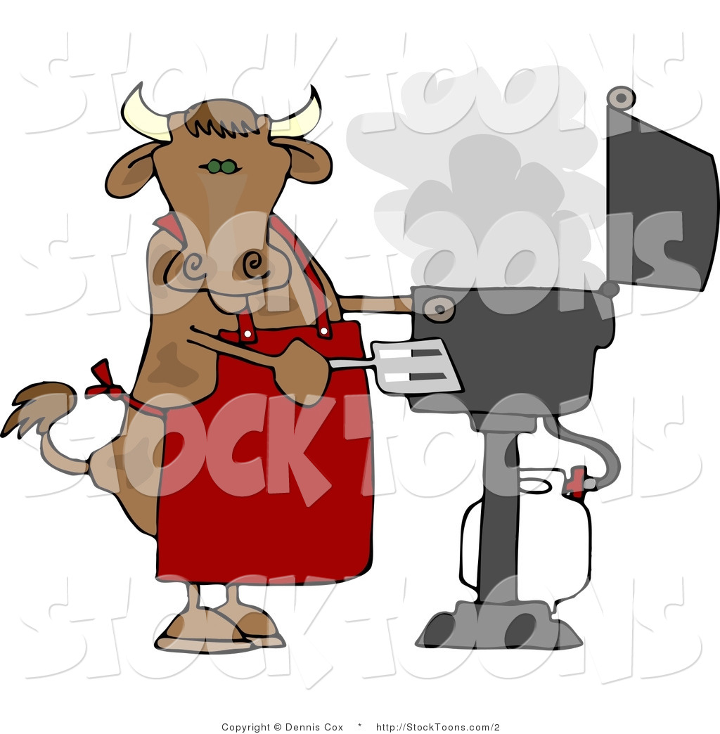 Royalty Free Stock Cartoon Designs of Cows
