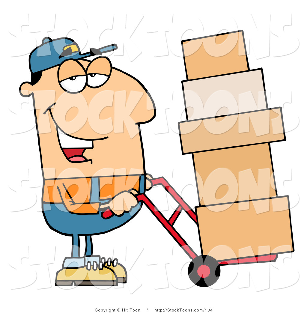 clipart delivery man - photo #35