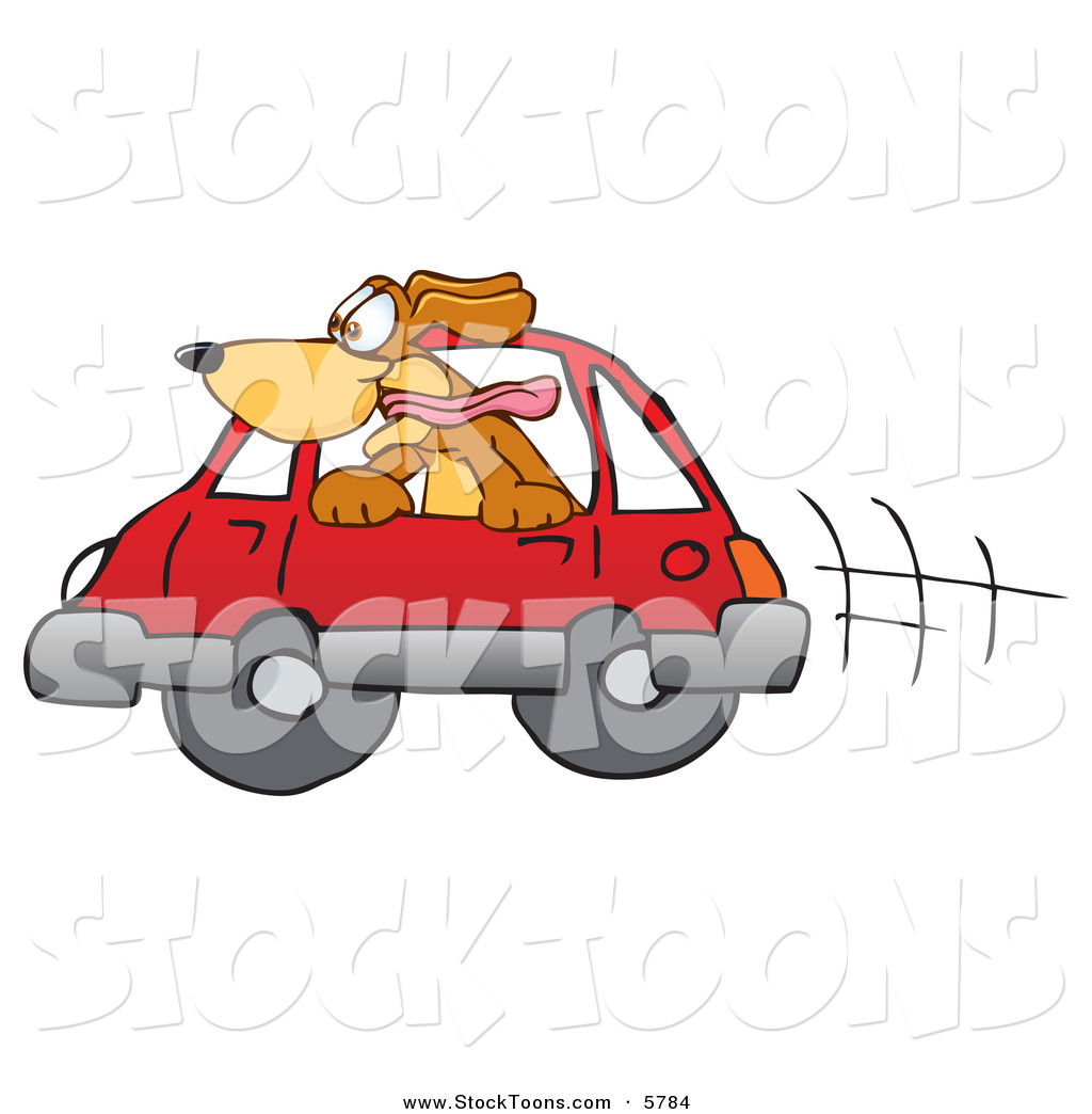Cartoon window related keywords amp suggestions cartoon window long - Happy Brown Dog Mascot Cartoon Character Sticking His Head Out Of A Car Window