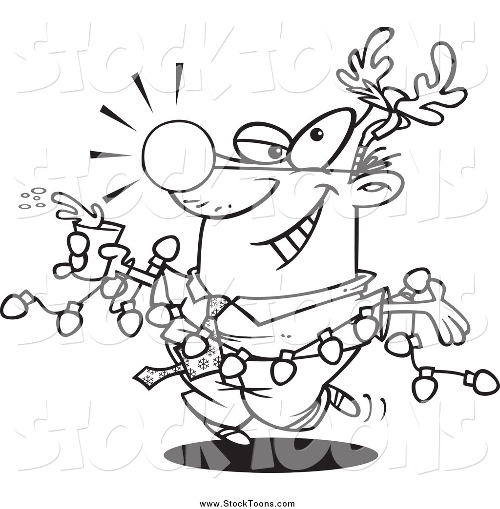 royalty free christmas stock cartoon designs