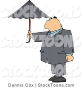 Stock Cartoon of a Businessman by Dennis Cox