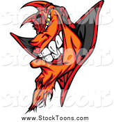 October 5th, 2014: Stock Cartoon of a Grinning Devil by Chromaco