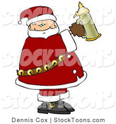 Stock Cartoon of a Santa by Djart