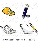 Stock Cartoon of Secret Messages by Jtoons