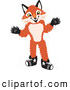 Stock Cartoon of a Cute Fox Mascot Cartoon Character by Toons4Biz
