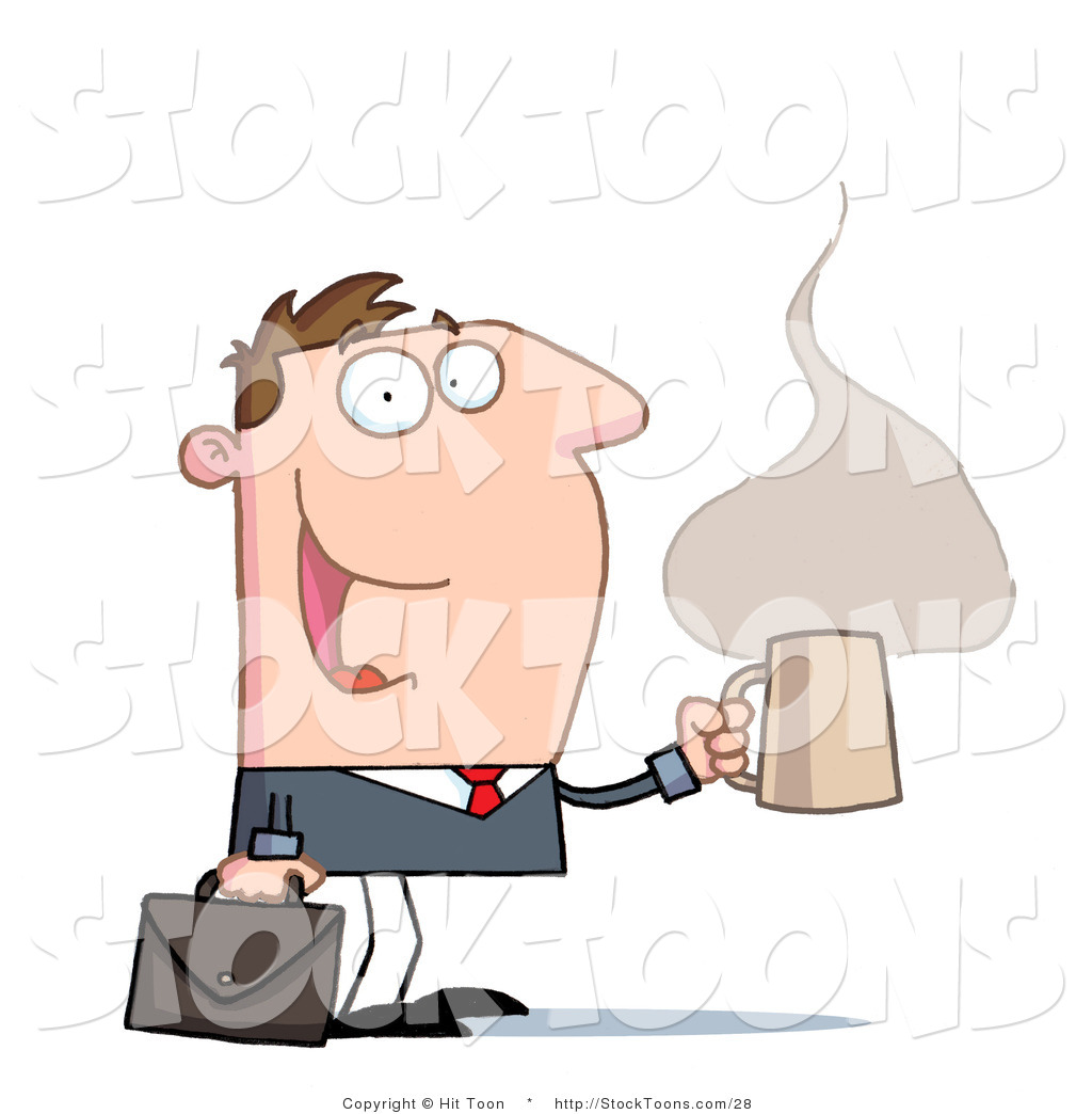 Stock Cartoon Of A Perky Businessman By Hit Toon